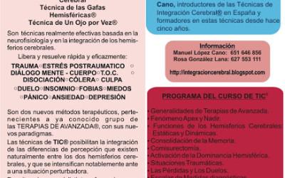 Curso TIC – Técnicas de Integración Cerebral